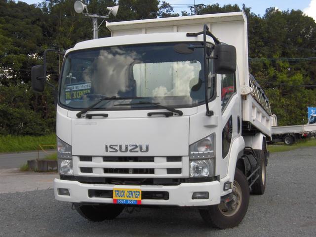いすゞ  3.7トン ダンプ 仕上げ済み 電動コボレーン 3400/2050