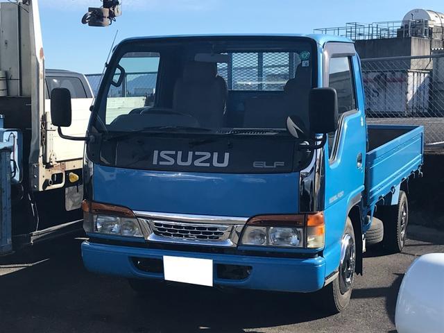 いすゞ  2.0t平ボディー ディーゼル 5速マニュアル車 車検令和3年8月 ETC