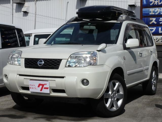 日産 Xtt 4WD インテリキー サンルーフ ルーフボックス