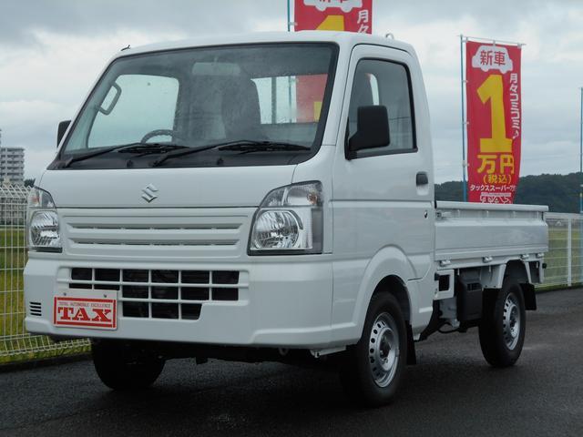 スズキ KCエアコン・パワステ 未使用車・5速ギア・4WD・保証書