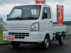 キャリイトラックKCエアコン・パワステ 未使用車・5速ギア・4WD・保証書