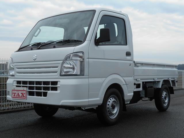 スズキ KCエアコン・パワステ 純正AMFM・4WD・禁煙車・保証書