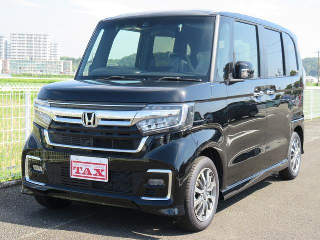 ホンダ N-BOXカスタム L ・ナビ・TV・ドアバイザー・フロアマット付・バックカメラ・保証書