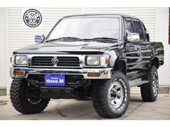 ハイラックスWキャブSSR−X ロングボディ ディーゼルターボ 4WD