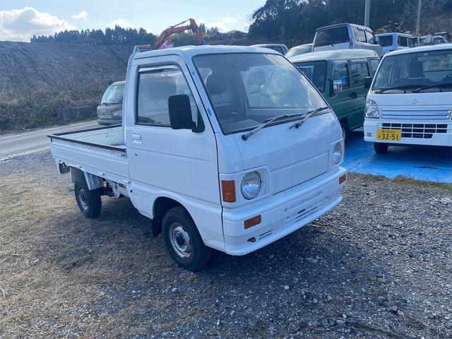 ダイハツ ハイゼットトラック DX 平成元年モデル実走行