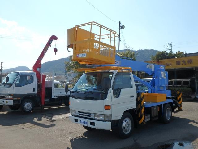 トヨタ ダイナトラック 高所作業車 アイチSK126高さ125cm...