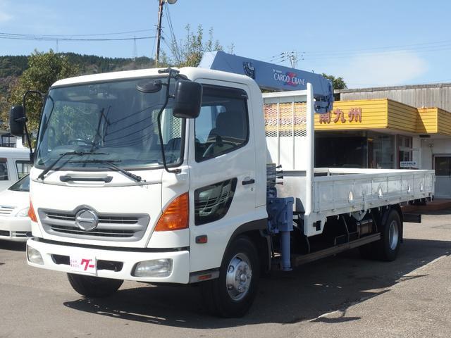 日野 タダノ4段クレーン フックイン  ETC ドライブレコーダー