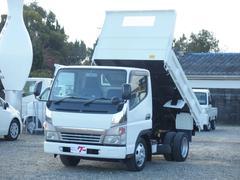 キャンター2t ダンプ 平ボディ 5速マニュアル車 車検整備付き