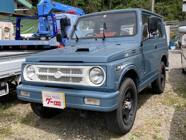 スズキ HC 4WD AW 4名乗り ブルー MT