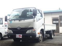 ダイナトラック2t積載 平ボディー リアWタイヤ ETC付 オートマ