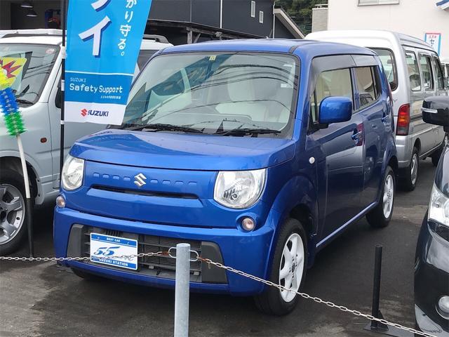 スズキ MRワゴン ECO-L バックカメラ ETC 革調シートカバー 14AW