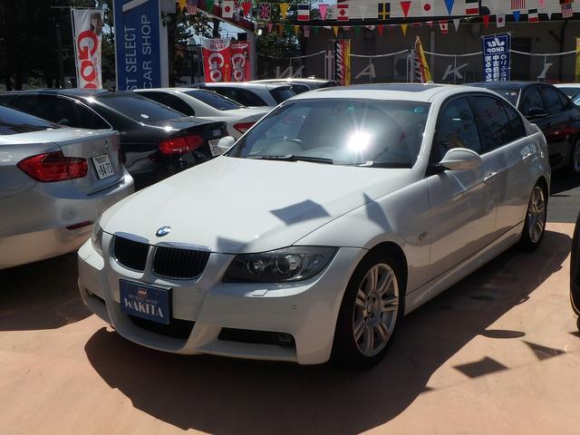 BMW 3シリーズ 335i Mスポーツパッケージ ナビ サンルー...
