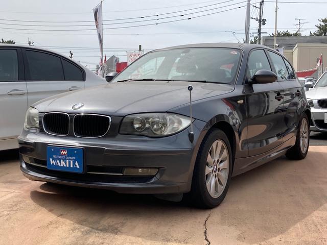 BMW 1シリーズ 116i CVT CD プッシュスタート スマートキー ETC 純正AW フル装備 Wエアバック
