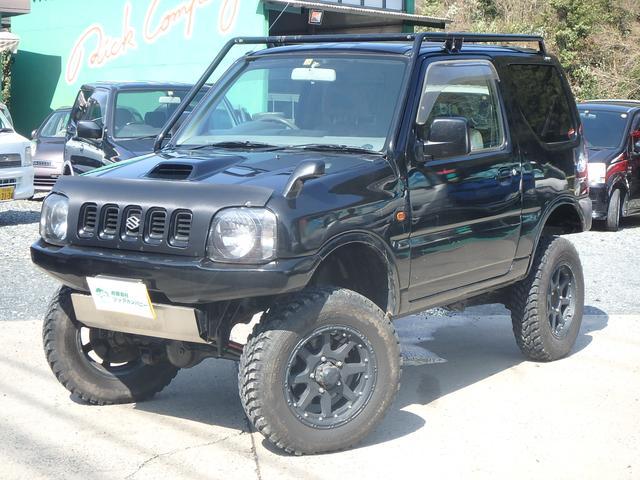 スズキ XC 4WD リフトアップ 社外グリル 16インチAW