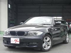 BMW120i カブリオレ 社外ナビ パワーシート キーレス