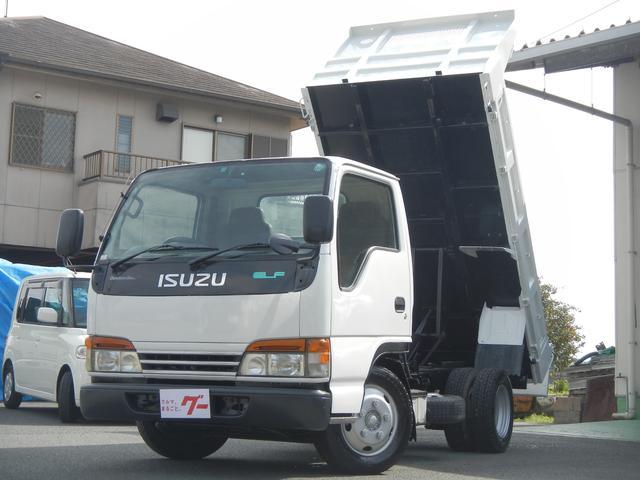 いすゞ ダンプ 2.0tローダンプ 強化ボディ 低床