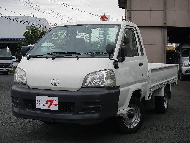 トヨタ 1.0t 平ボディー 5速ミッション AC PS ガソリン車