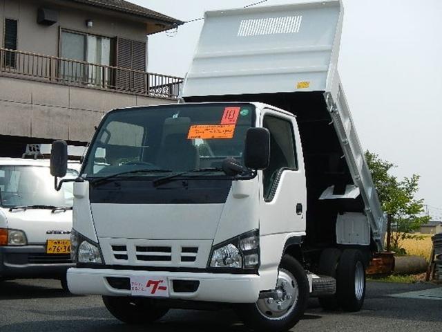 いすゞ 強化ダンプ 2.0t 低床 DPD仕様車 5速ミッション