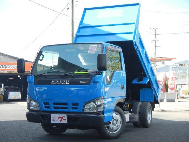 いすゞ  3.0tローダンプ 強化ボデー 4ナンバー 5速ミッション