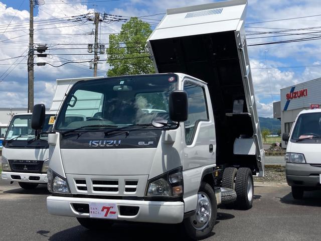 エルフトラック  3t ローダンプ 5速MT 4ナンバー AC PS PW ETC