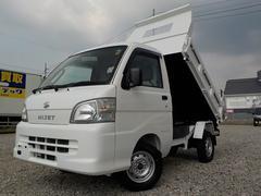 ハイゼットトラックPTOダンプ4WDパワステ・エアコン・ライトレベライザー
