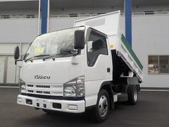 エルフトラック3.0Dターボ全低床ダンプ4WD車両総重量5t未満