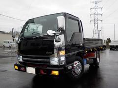 エルフトラック3.0Dカスタム2t高床平ボディ6MTメッキ オートAC