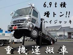 ヒノレンジャー6.9t積 増トン ハイジャッキセルフ ウインチ付
