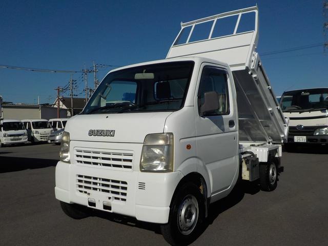 スズキ キャリイトラック ・KCエアコン・パワステ・4WD・5速MT