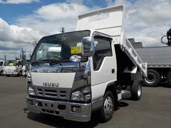 エルフトラック4.8D 全低床2tダンプ4WD切替付 5MTフロントメッキ