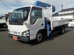 エルフトラック標準 タダノ4段クレーンフックイン 2t