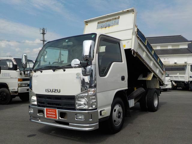 エルフトラック 2t高床強化ダンプ 5MT