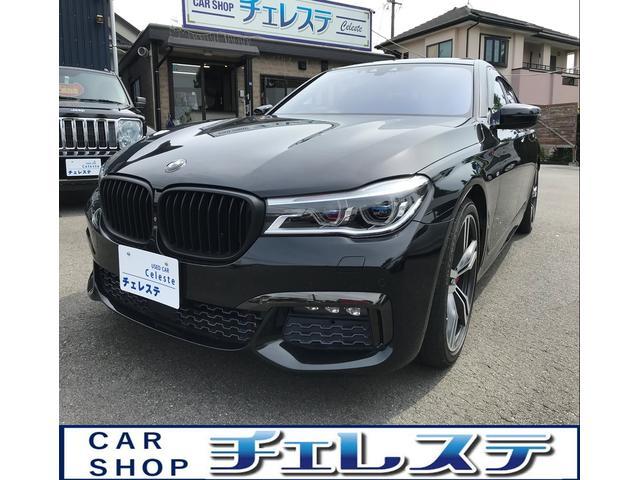 BMW 7シリーズ 740i Mスポーツ インテリジェントセーフティ 360度カメラ 全席ドアイージークローザー ハーマンカードン サンルーフ 茶革 20インチアルミ