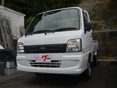 サンバートラック4WD・5速MT・エアコン・パワステ・3方開・エアバッグ