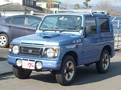 ジムニーワイルドウインド 4WD 5速マニュアル車 ルーフキャリア