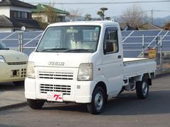 キャリイトラックKC 4WD エアコン パワステ 全塗装済 三方開