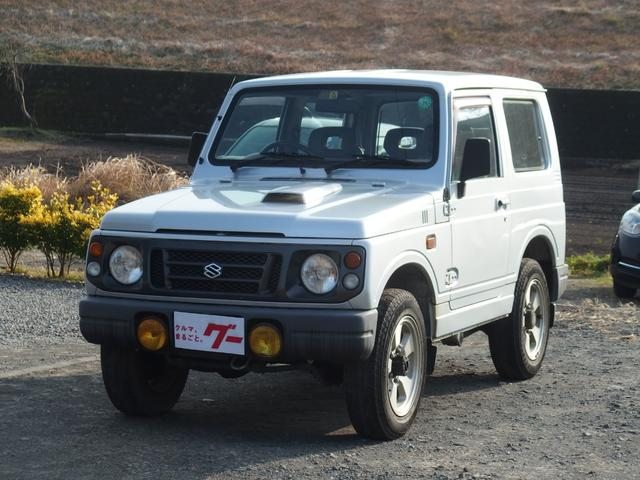 スズキ ワイルドウインド 4WD 5:速マニュアル車 背面タイヤ