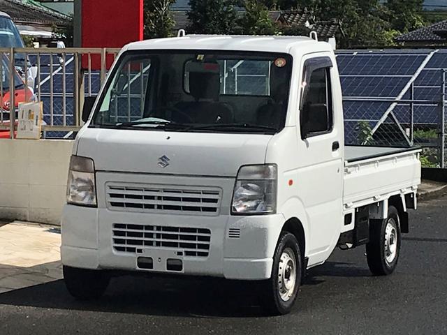 スズキ KCエアコン・パワステ 4WD 5速マニュアル車 全塗装済
