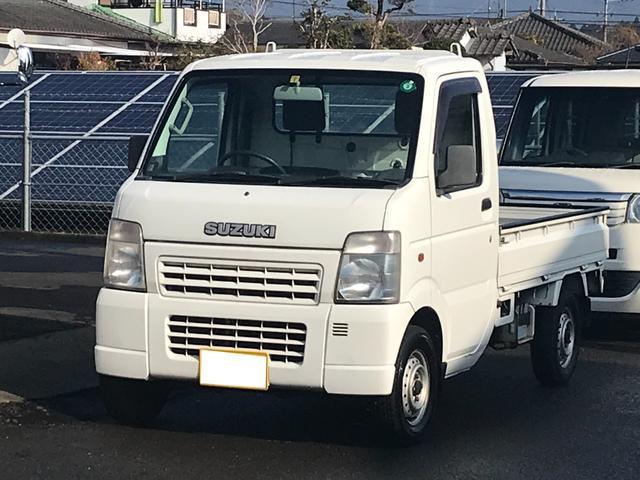 KCエアコン・パワステ 2WD 5速マニュアル車 エアコン パワステ 三方開(1枚目)