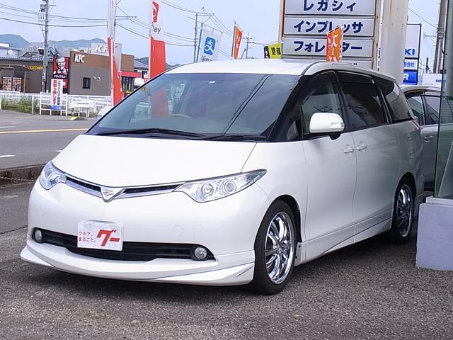 トヨタ G HDDナビ Bカメラ 両側電動ドア エアロ 禁煙車