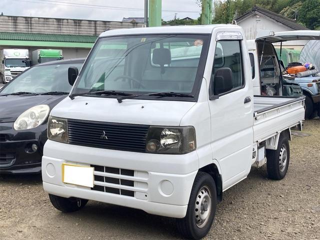 三菱 ミニキャブトラック  2WD AC 5速マニュアル車 走行距離39675km 三方開 車検整備付き