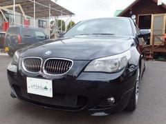 BMW525i Mスポーツパッケージ レザーシート 社外19AW