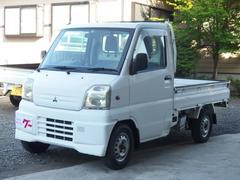 ミニキャブトラック4WD エアコン 三方開 5速マニュアル車