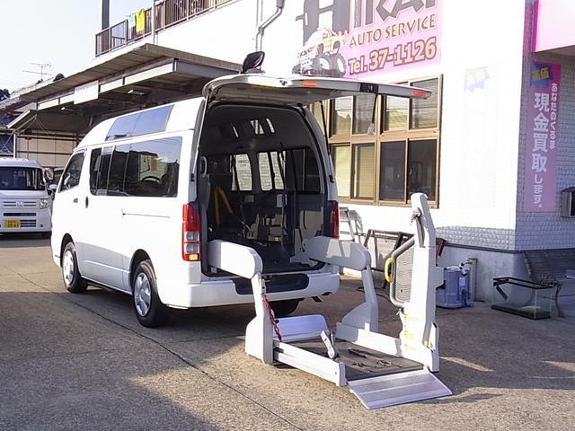 トヨタ 福祉車輛 4ドア車椅子積載車 メモリーナビ ETC