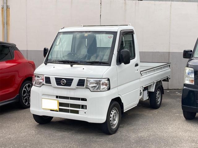 日産 NT100クリッパートラック SD 4WD 三方開 荷台ゴムマット付 5速ミッション エアコン パワステ エアバック