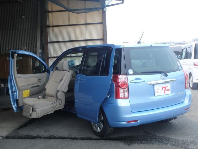 トヨタ ベースグレード ウェルキャブ 助手席電動リフト 左側パワースライドドア ナビ