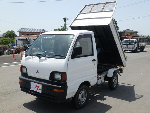 三菱 ダンプ 5MT エアコン 4WD