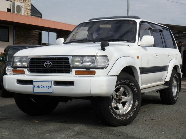 トヨタ VXリミテッド ディーゼルターボ 4WD サンルーフ 社外16inアルミ ATタイヤ シートカバー クルーズコントロール