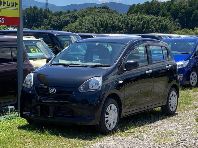 ダイハツ L アイドリングストップ 車検整備付き キーレス付  ABS 衝突安全ボディ