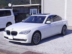 BMWアクティブハイブリッド7 ナビ地デジ 革シート サンルーフ